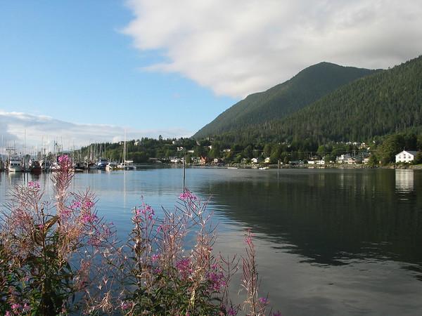 Family holiday in Alaska