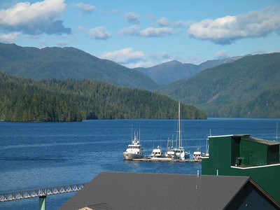 ADAGIO berthed at Prince Rupert Rowing and Yacht Club
