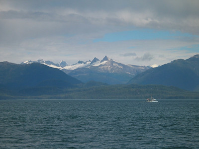 Enroute from Sitka to Petersburg, Alaska