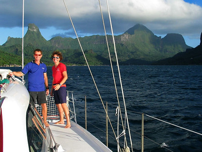 Departing Cook's Bay, Moorea, French Polynesia