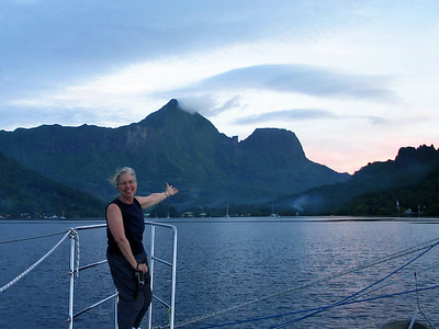 Cook Bay, Moorea, French Polynesia -- Dorothy