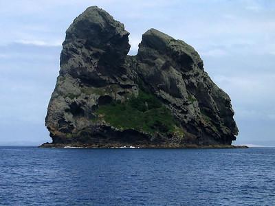 Sail Rock, southeast of Whangarei, NZ