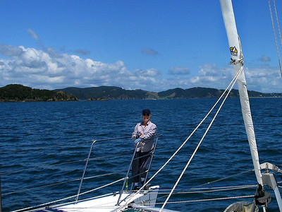 Dorothy in Bay of Islands, New Zealand
