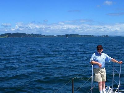 Steve in Bay of Islands, New Zealand