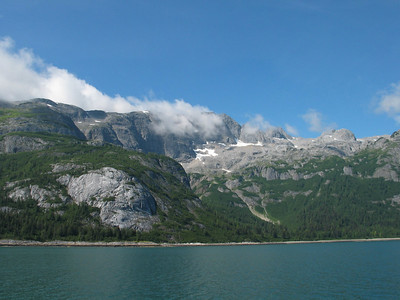 Marble Mountain seen from Whidbey Passage, Glacier Bay