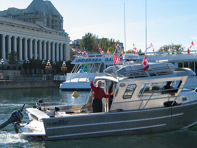 For the Corenman's new aluminum utility-boat, Friday Harbor is less than an hour away.