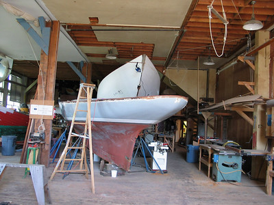 ...and this restoration in a nearby boat shed.