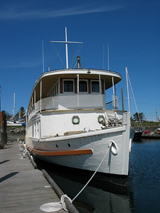 One hundred year old classic yacht, M/V LOTUS...