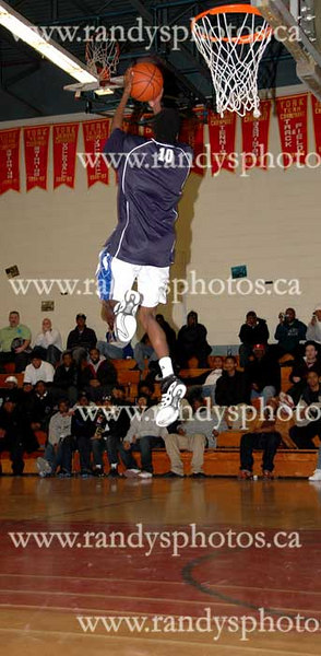 250-Sam Ashaolu Charity Showcase - Dunk Competition - Dec. 16 - 2006