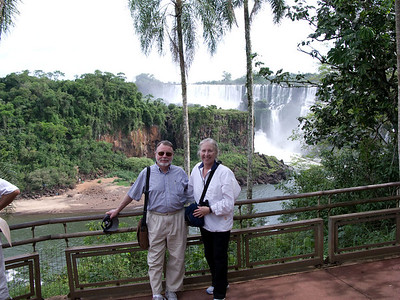 We are visiting the falls in Iguazu, north of Buenos Aires