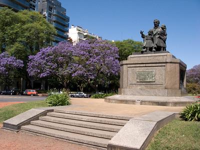 Monumento a Jose' de San Martin