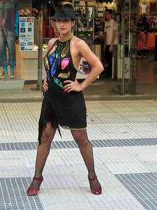 Tango Dancer at Gallerias Pacifico