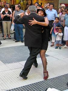 Tango at Galerias Pacifico