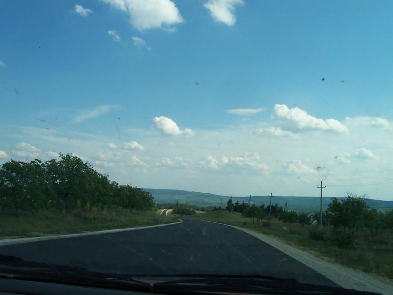 one of those rare roads with no holes.