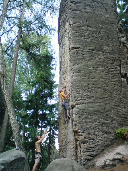 some climbing spot in CZ
