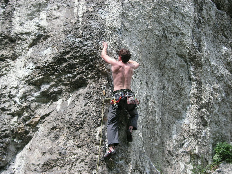 some climbing outside krakow