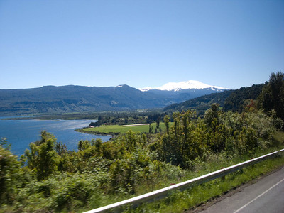 We began our trip through the beautiful Chilean lakes district.