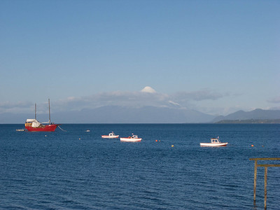 View of Mt. Osorno from Puerto Varas