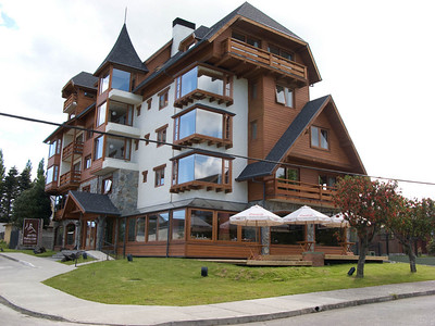 Hotel Puelche in Puerto Varas, Chile, where we stayed for two nights.