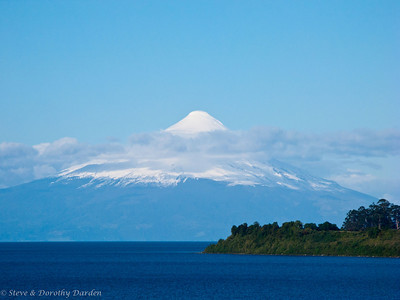 Mount Osorno in Chile. view from Puerto Varas, Chile