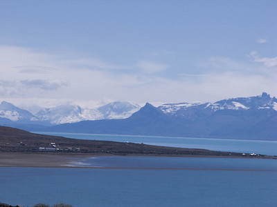 View from the Design Suites Hotel, El Calafate, Argentina