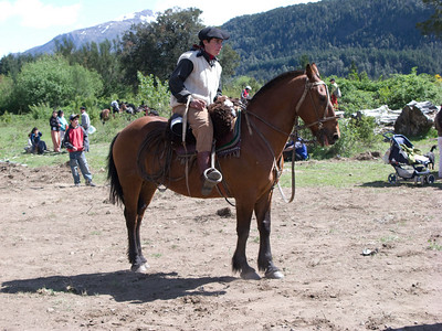 Each horse and rider were unique, and rode as if one centaur.