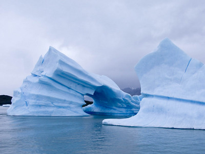 Thisis  a view of the other side of the holey ice berg.