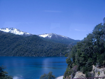 We have returned to the Argentine lakes district at last.