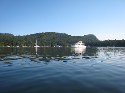 ADAGIO and CAPTIVA in Montague Harbour,BC