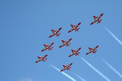 Victoria: Canada Airforce Snowbirds Airshow