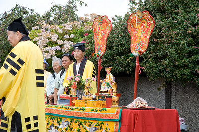 Dao ceremony of spotting the eye of the dragon