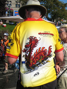 """The """"False Creek GrandDragons"""" win our paddling shirt contest!"""