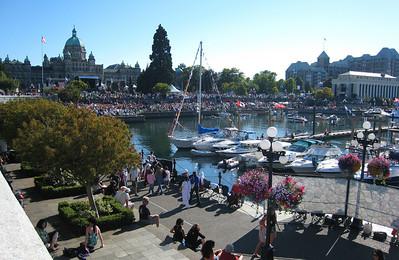 Victoria: Splash! Symphony on the inner harbor
