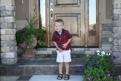 Luke First Day of Preschool