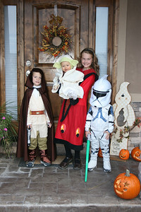 Halloween--our Star Wars Group
