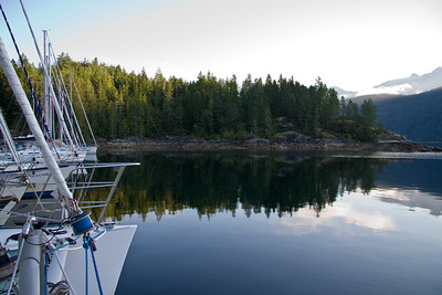 Morning in Pendrell Sound