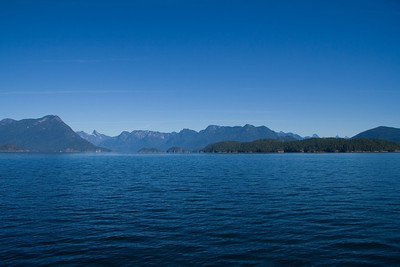 Mountain view from Desolation Sound