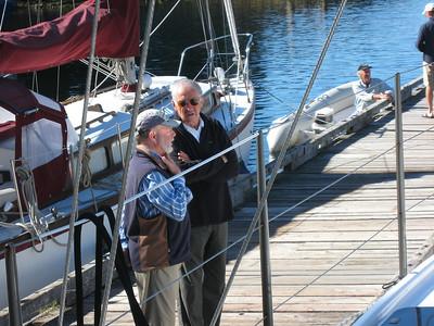 Steve and Tony Gooch at Refuge Cove