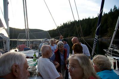 OCC party aboard ADAGIO
