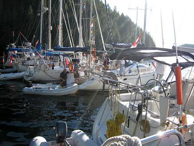 OCC Raft at Tenedos Bay