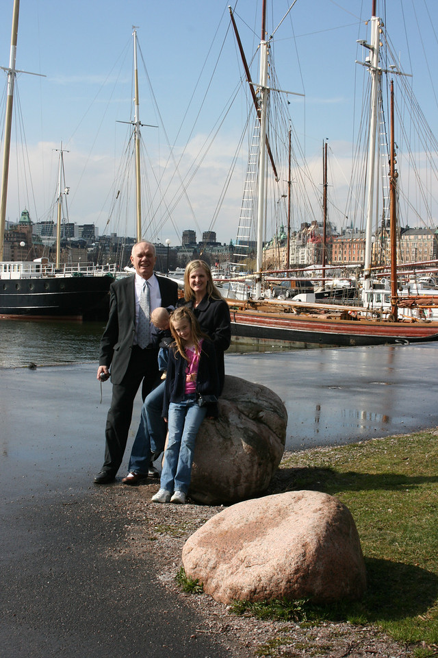 Stockholm was built on little islands so there is water and boats everywhere you walk
