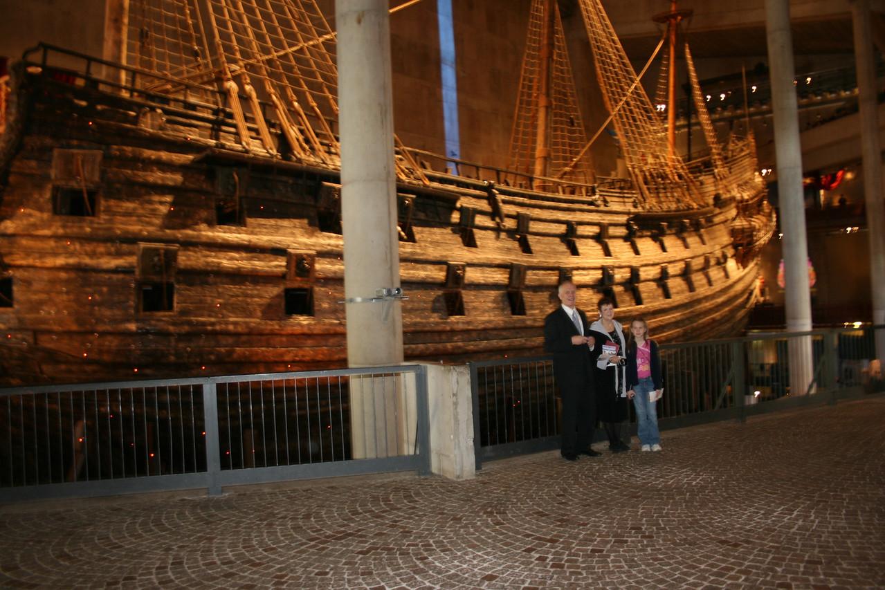 Vasa Ship in Stockholm