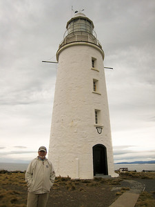 Steve and Cape Bruny Lighthouse