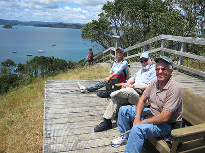 The views from the lookout reward the climbers —a great place to just sit and enjoy the Bay of Islands at your feet.