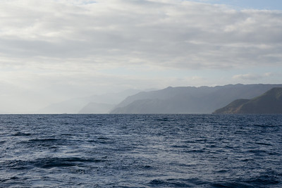 The coastline between Lavaissiere and Touho