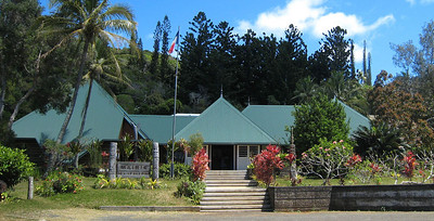 Mairie, main tribal government offices for the Isle of Pines