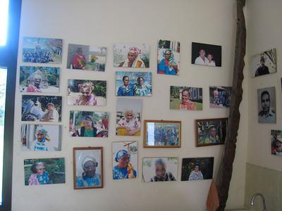 """Photos of village """"elders"""" at Vao"""