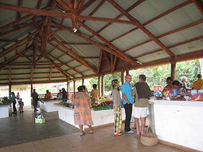 Farmers' market in Vao