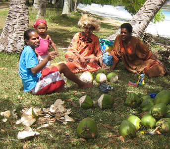 Coconut milk beverages for the singers