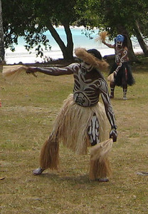 The dancers enacted traditional legends and customs.